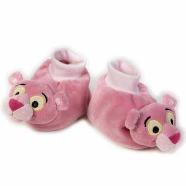 Baby slofjes Pink Panter
