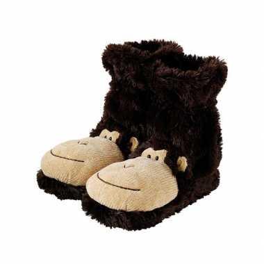 Bruine aapjes sokken