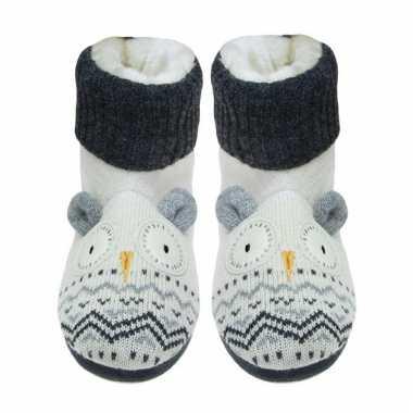 Gebreide sokken uil