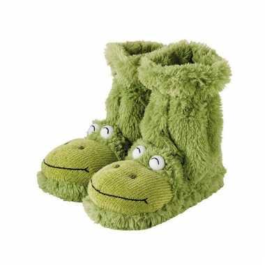 Groene kikker sokken