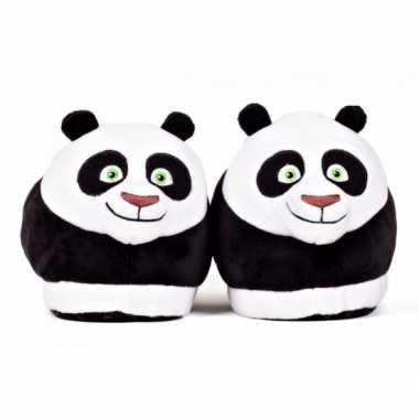 Panda sloffen voor kinderen