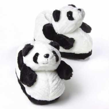 Panda sloffen voor volwassenen 10059313
