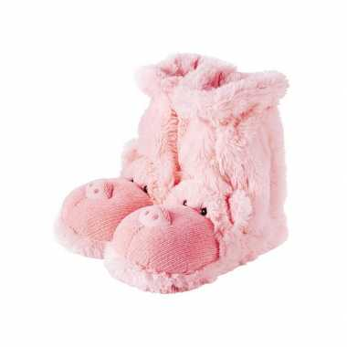 Roze varken sokken