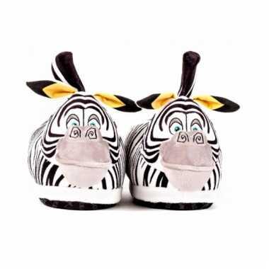 Zebra sloffen voor kinderen