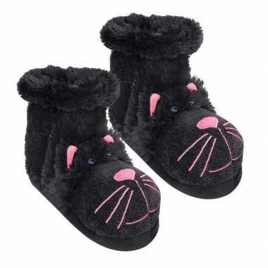 Zwarte kat sokken